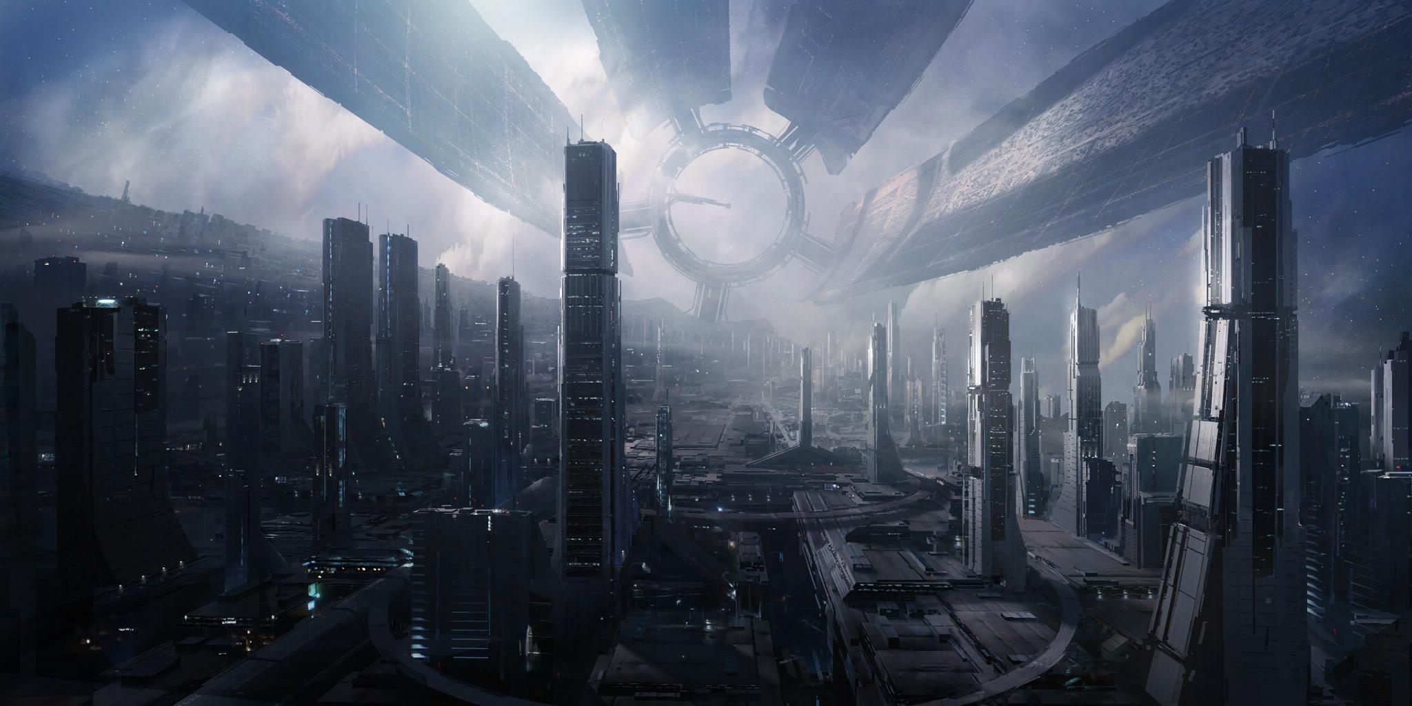 Awesome Mass Effect Game Wallpaper Wallpaper WallpaperLepi 2048x1024
