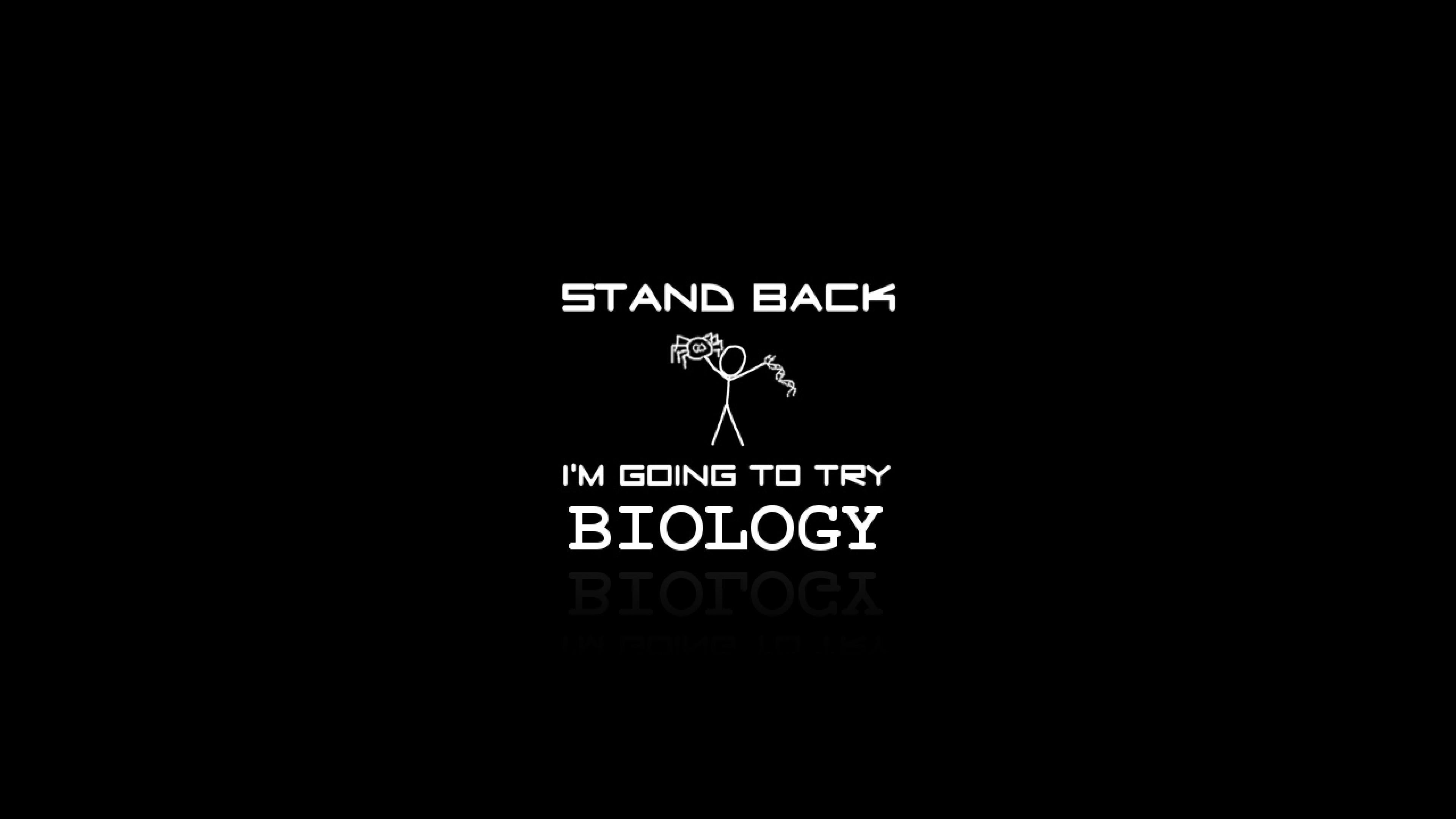 stand back biology v2 Ultra or Dual High Definition 2560x1440 3840x2160