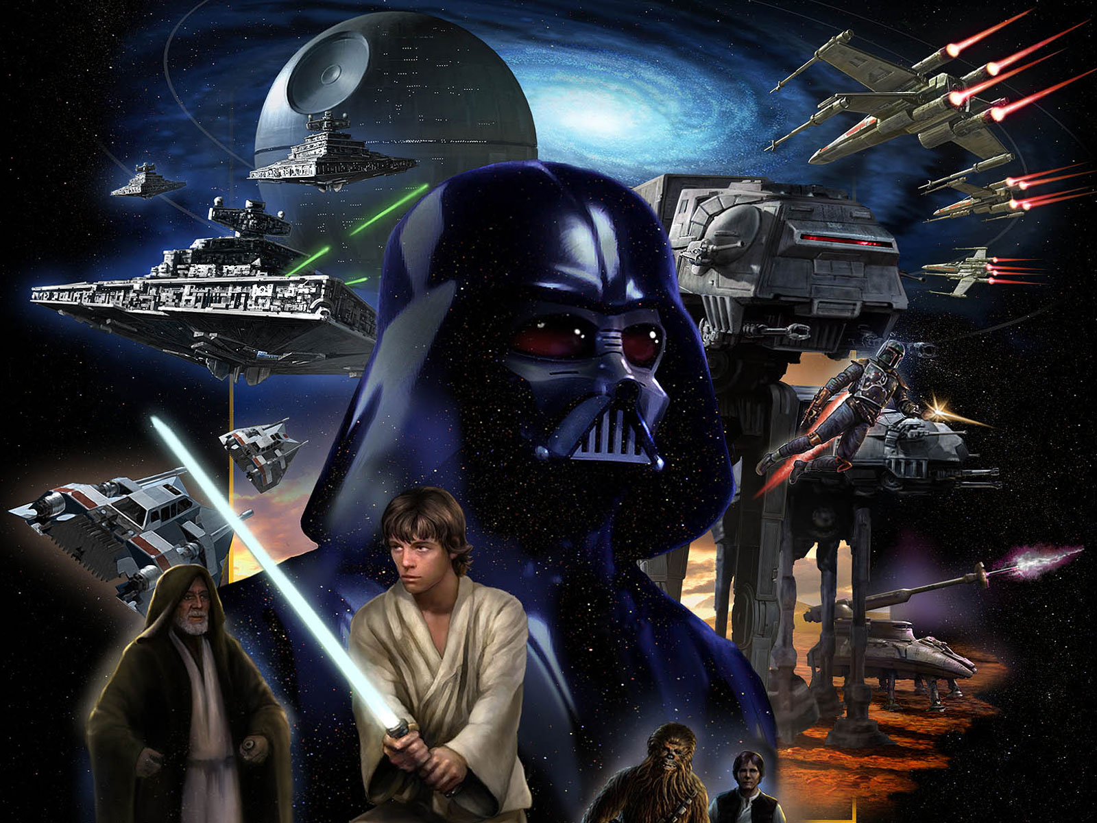 Star Wars Wallpapers Hd Wallpaper Widescreen 3 1600x1200
