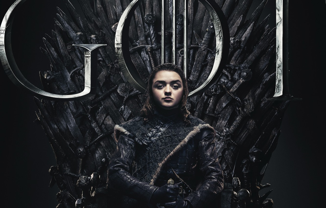 Wallpaper Game of Thrones Game of thrones Aria Season 8 Season 1332x850