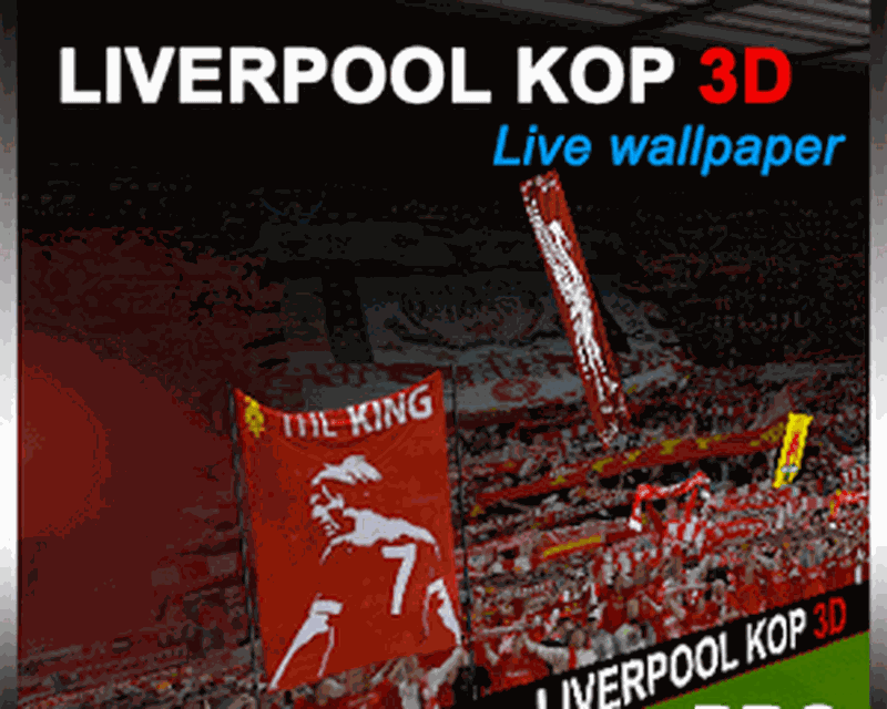 Liverpool Kop 3D Pro LWP Android 800x640