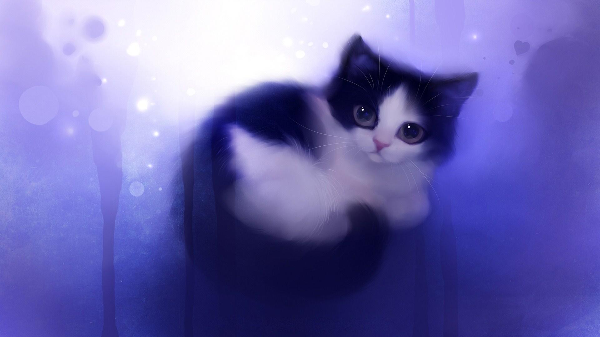 Cute Cat Background Wallpapersafari
