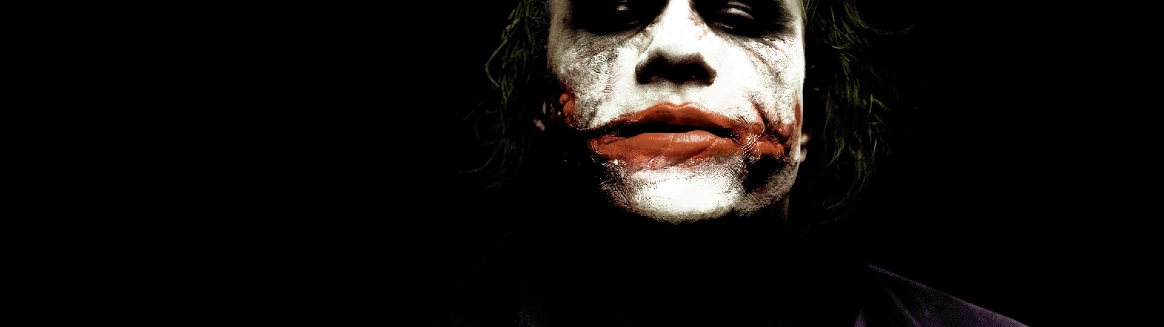 heath ledger the dark knight joker movies best aaEy 3840x1080