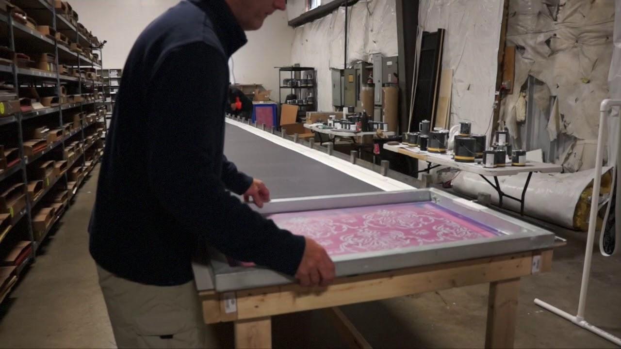Red Disk   Silkscreen Wallpaper Process 1280x720