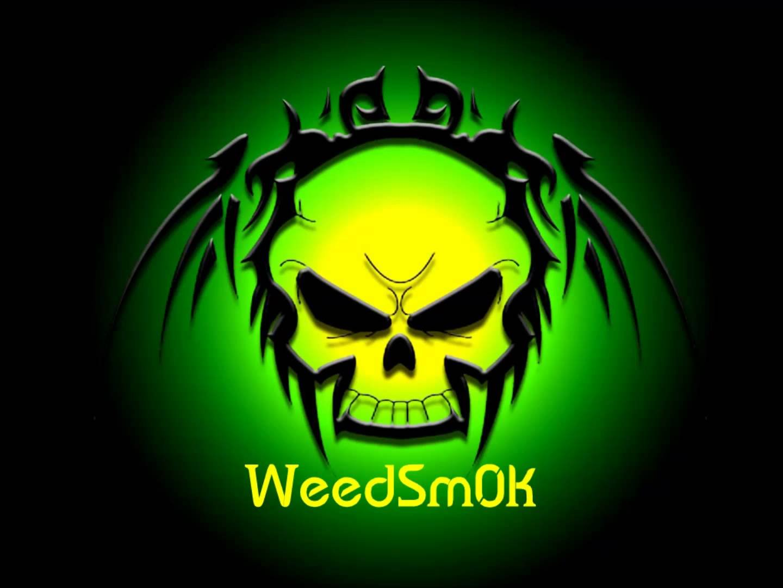 creepy scary skull 420 marijuana weed drugs wallpaper background 1440x1080