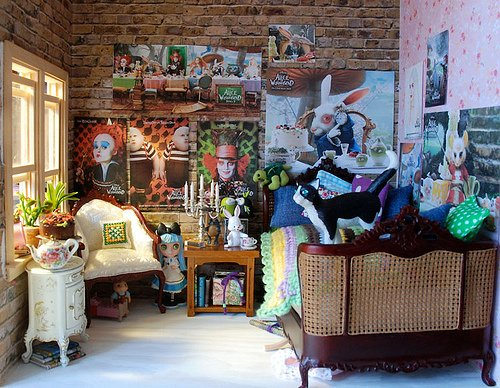 Alice In Wonderland Baby Room Decorations Photograph Alice 500x388