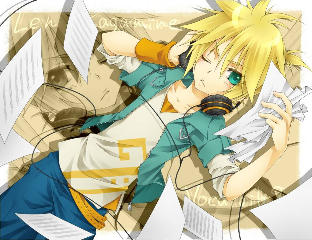 Rin and Len Kagamine images Len Kagamine! X3 HD wallpaper and ...