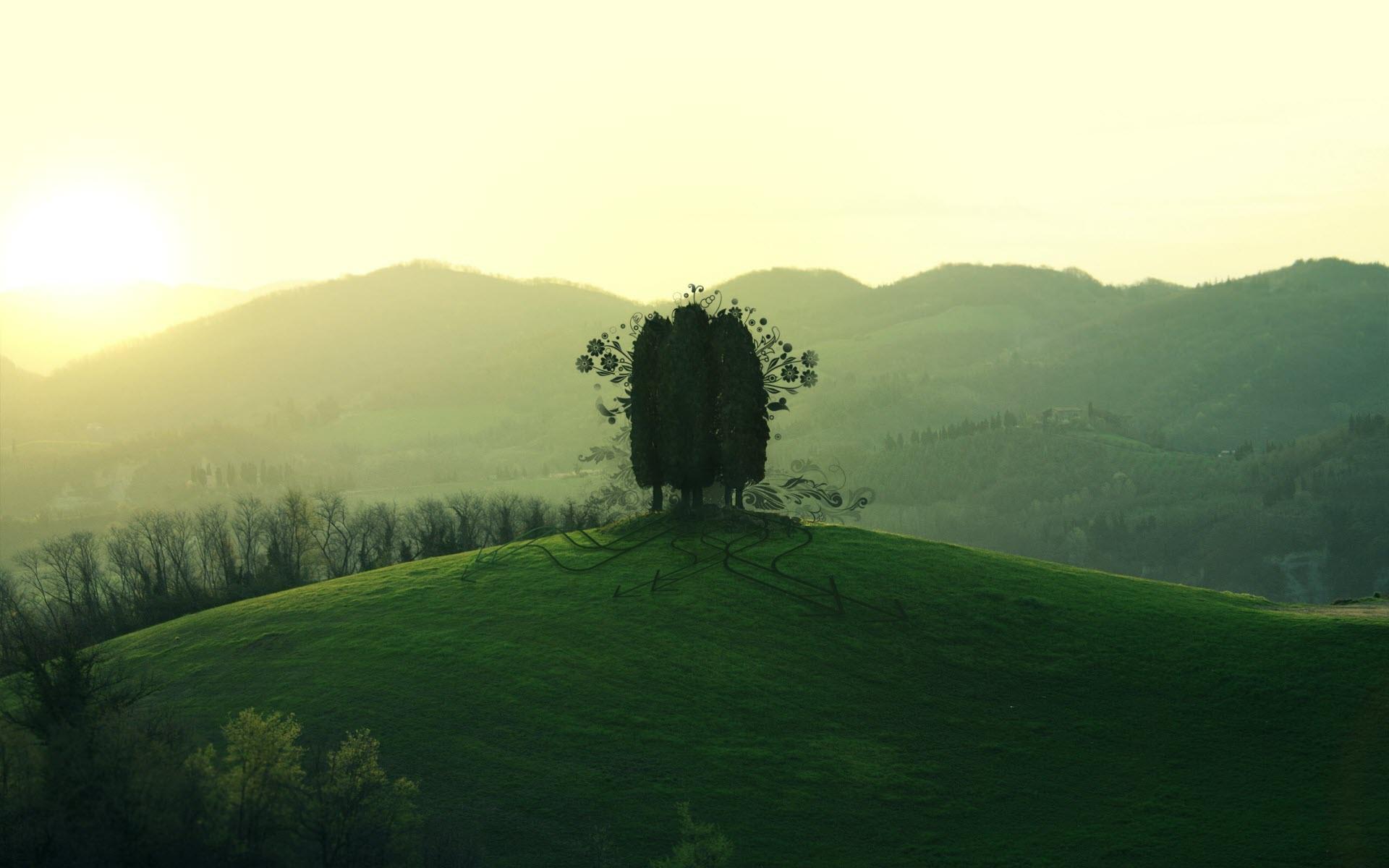 The Hill is Alive desktop wallpaper 1920x1200