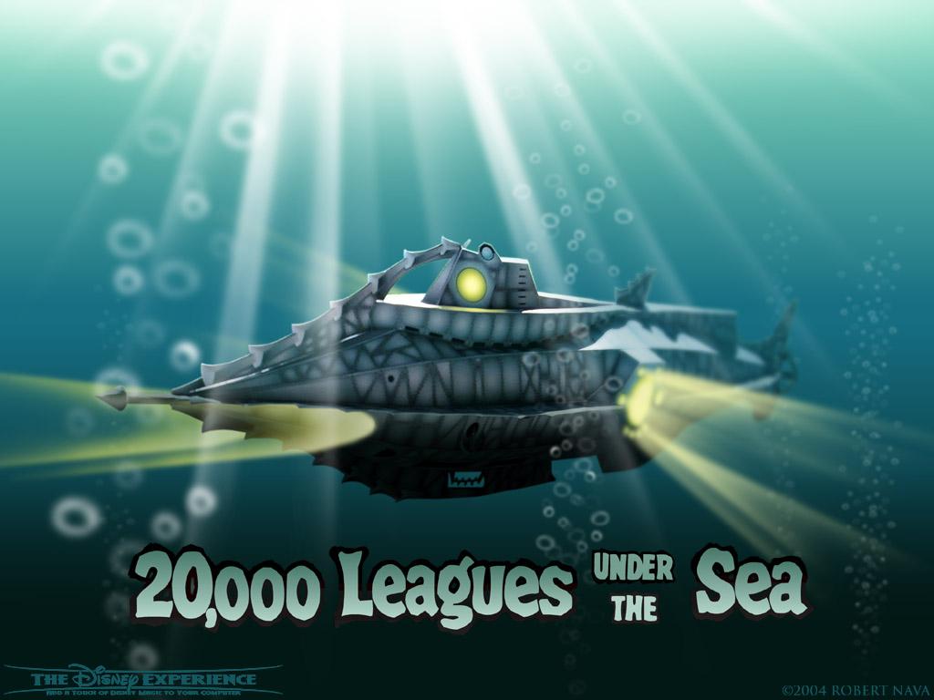 funciona un submarino El Nautilus y el buzo de Julio Verne nos ayudan 1024x768