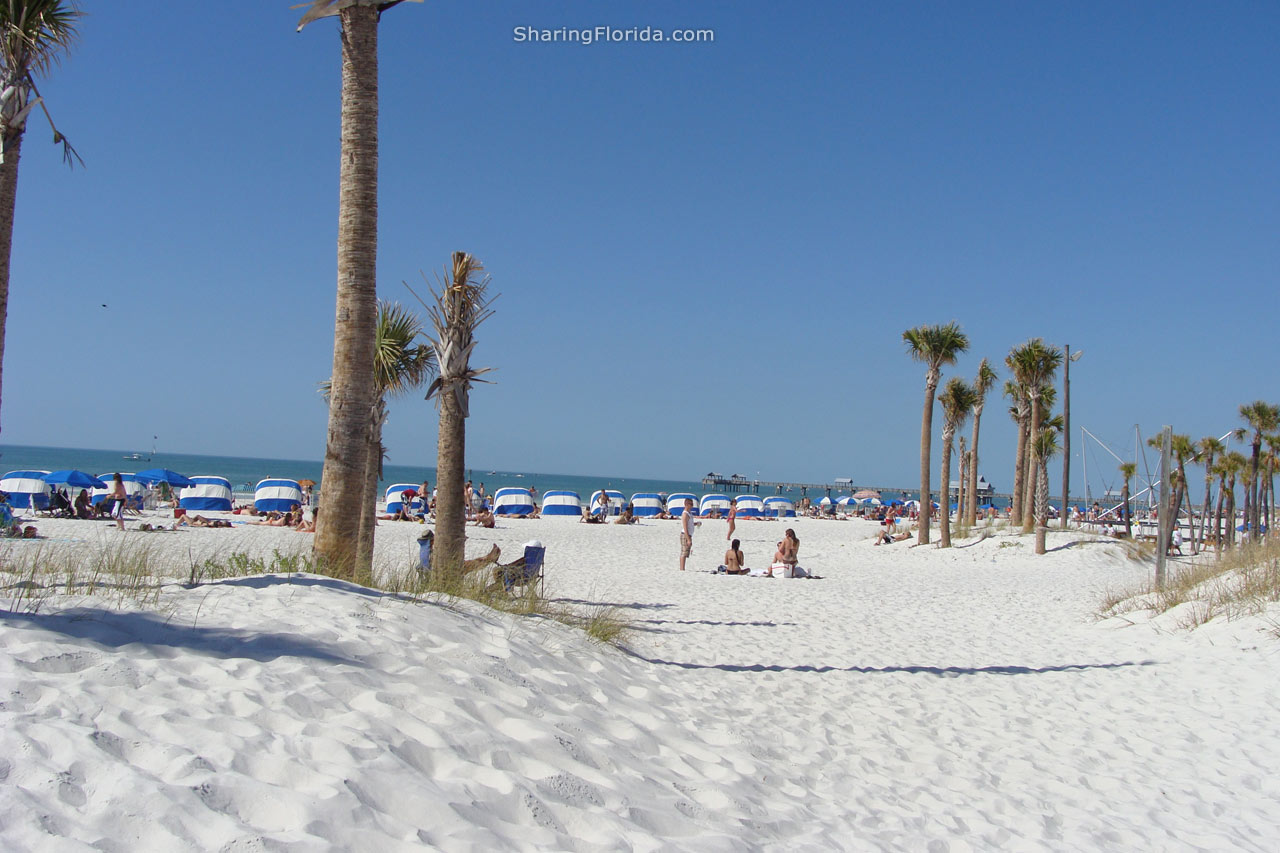 Clearwater Beach Map Florida
