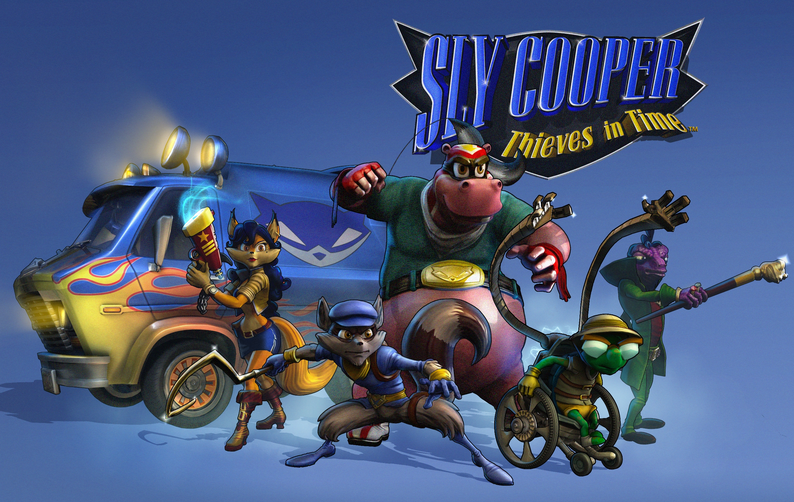 Sly Cooper Thieves in Time video game wallpapers Wallpaper 119 of 2630x1664