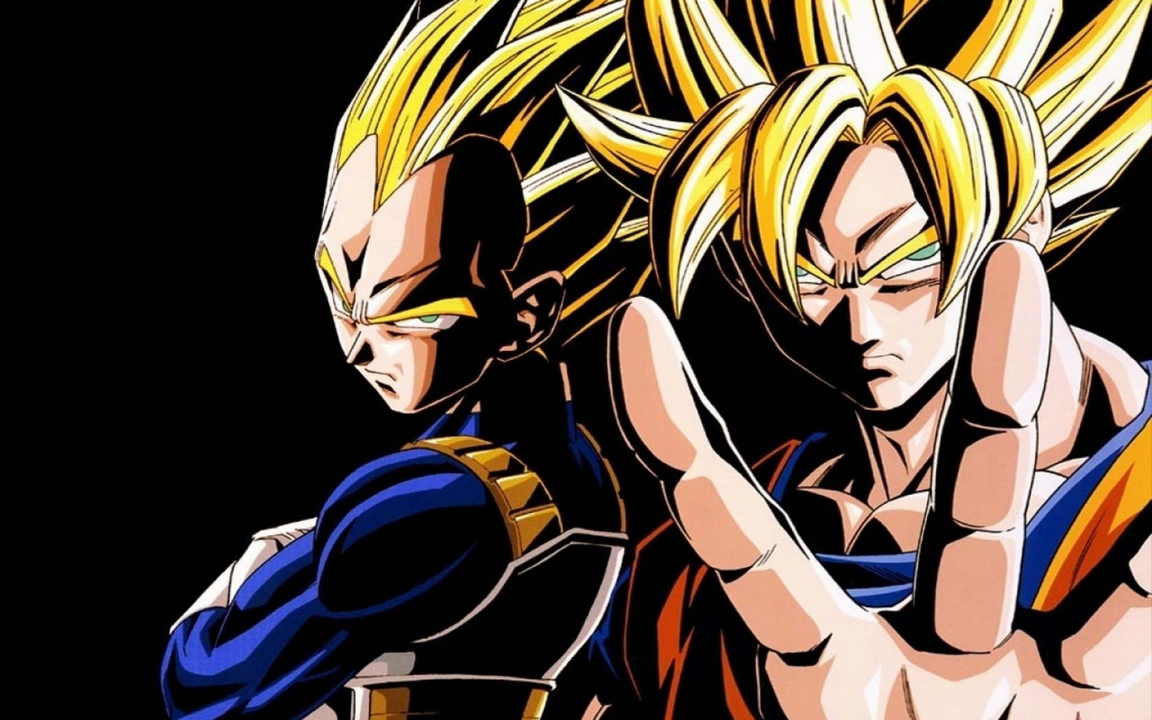 Anime   Dragon Ball Z Dragon Ball Dragon Ball Goku Vegeta Wallpaper 1680x1050