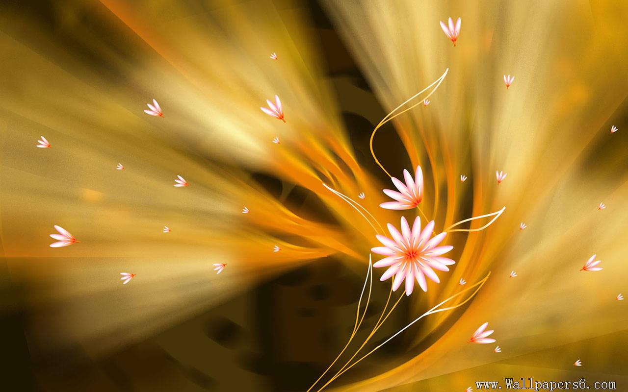 GOLDEN FLOWER 1280x800