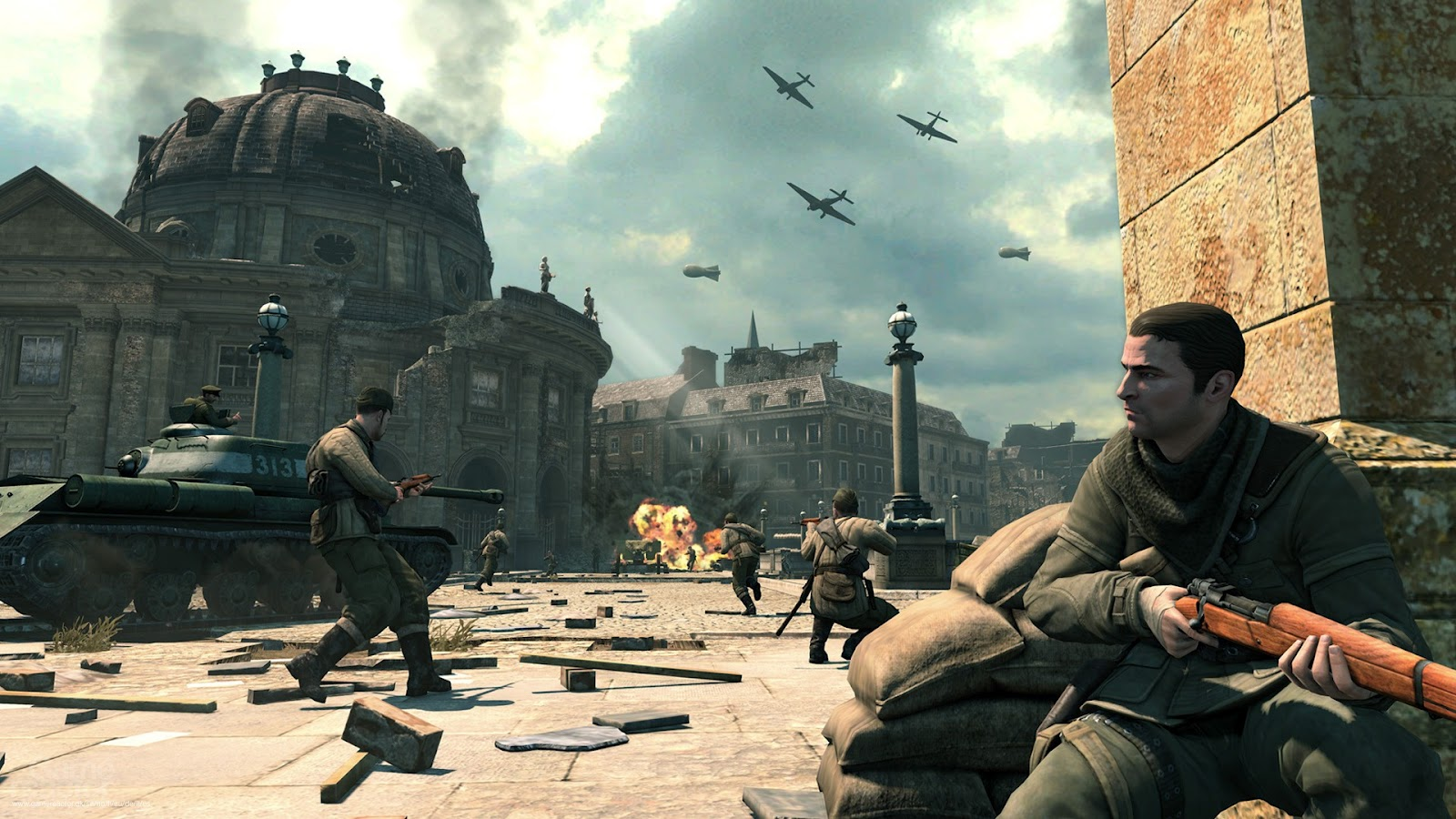 SniperEliteV2wallpapers3 Sniper Elite V2 Full HD Wallpapers 1080p 1600x900