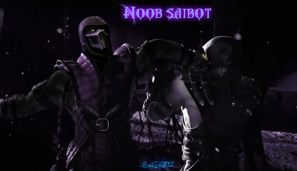 Noob saibot Sub Zero MKX by Sublzerolfan 1024x592