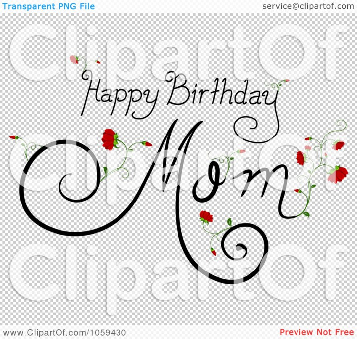 Art Illustration Happy Birthday Mom Text Wallpaper Ascii Art 720x683