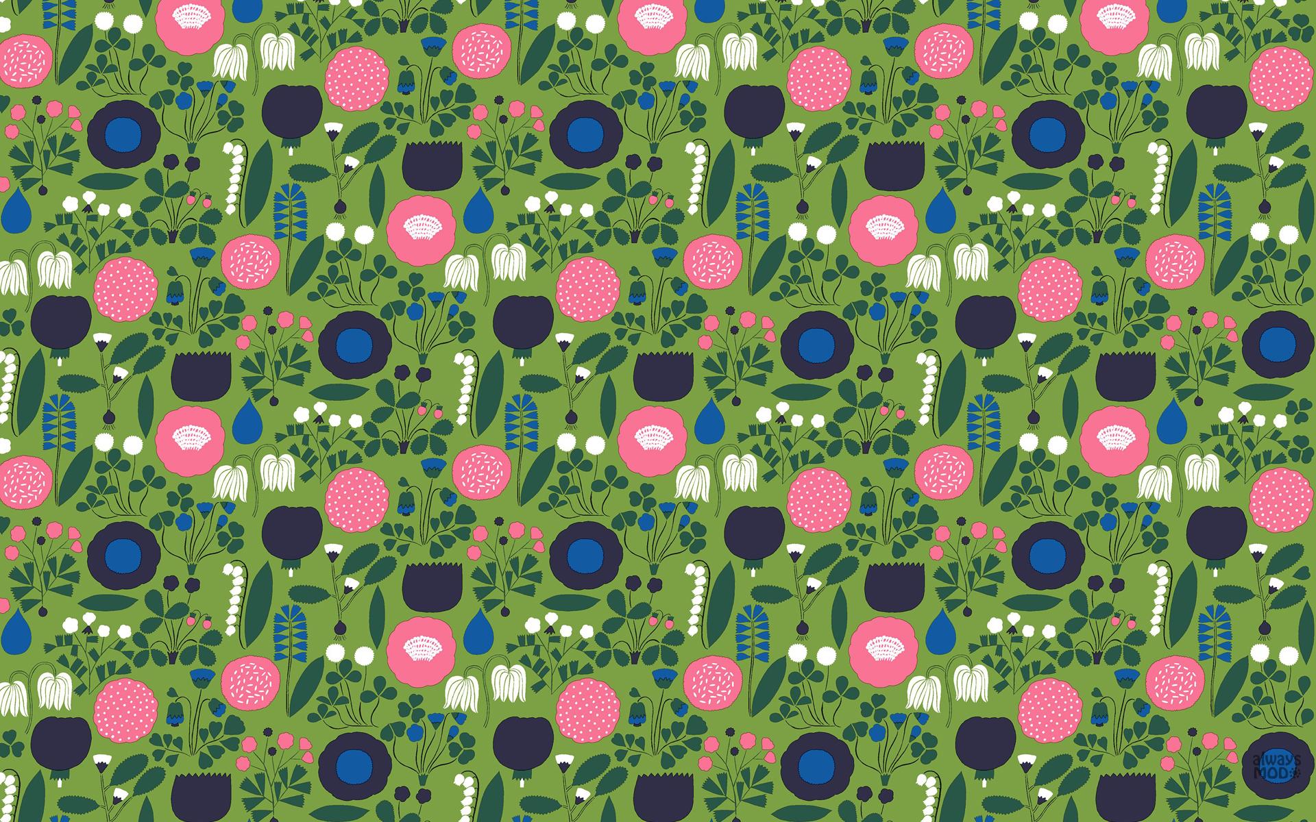 Marimekko Lumimarja Wallpaper Wallpapersafari