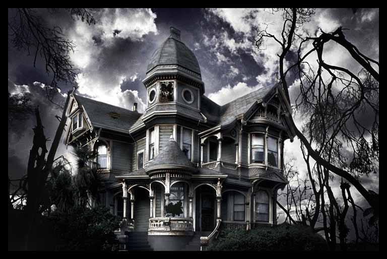 Haunted House HD Wallpapers 768x514