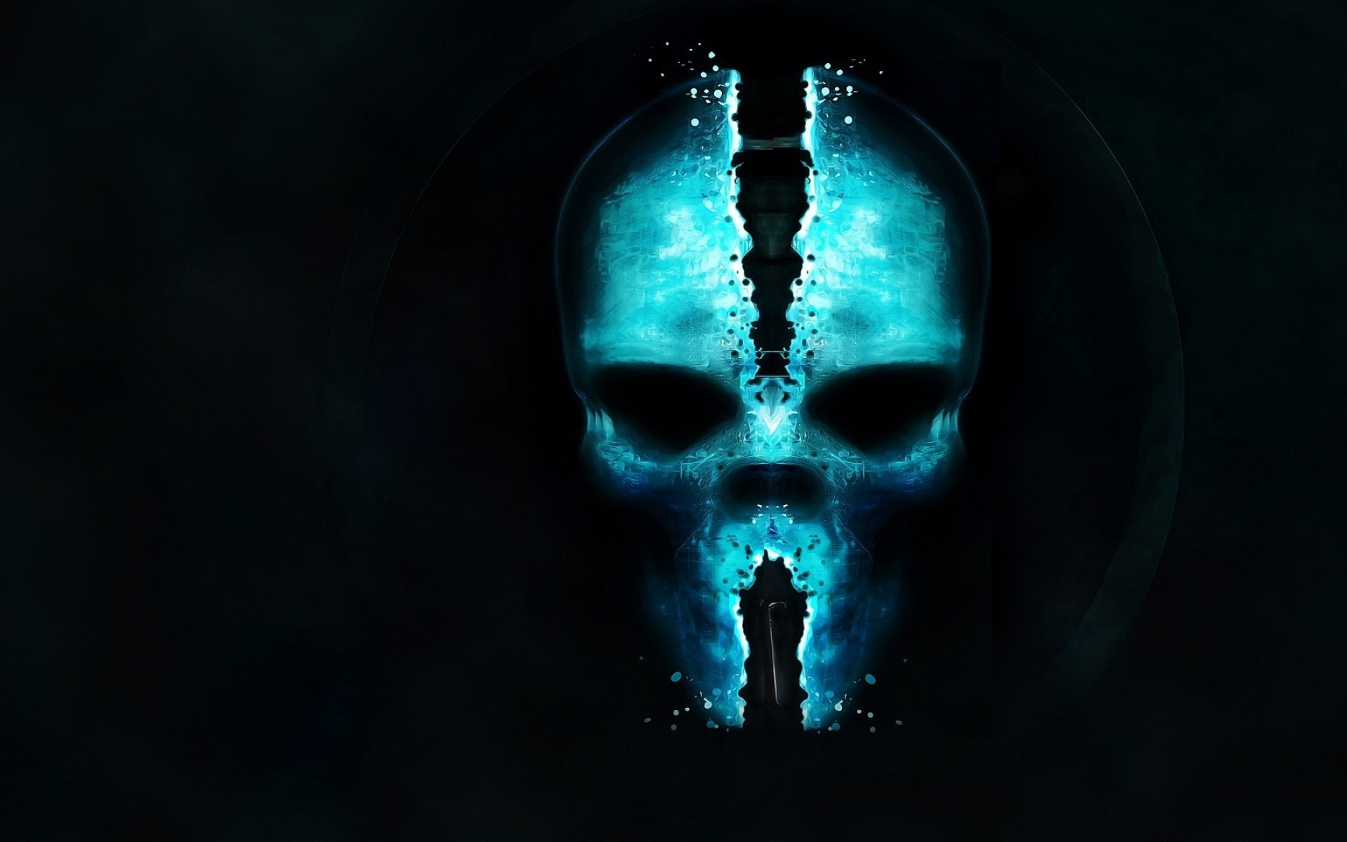 skulls science fiction glow ghost recon games 1920x1080 wallpaper 1920x1200