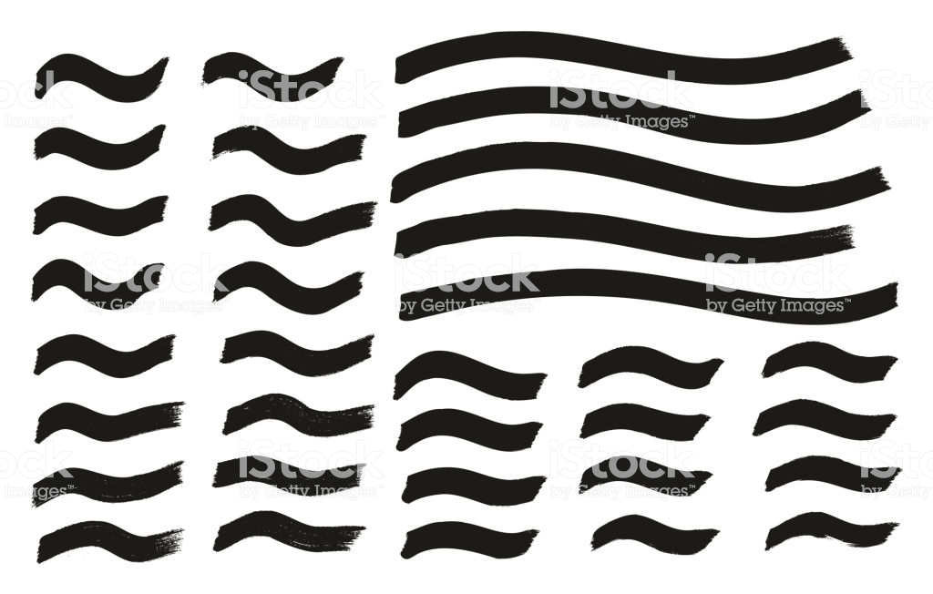 Tagging Marker Medium Wavy Lines High Detail Abstract Vector 1024x652