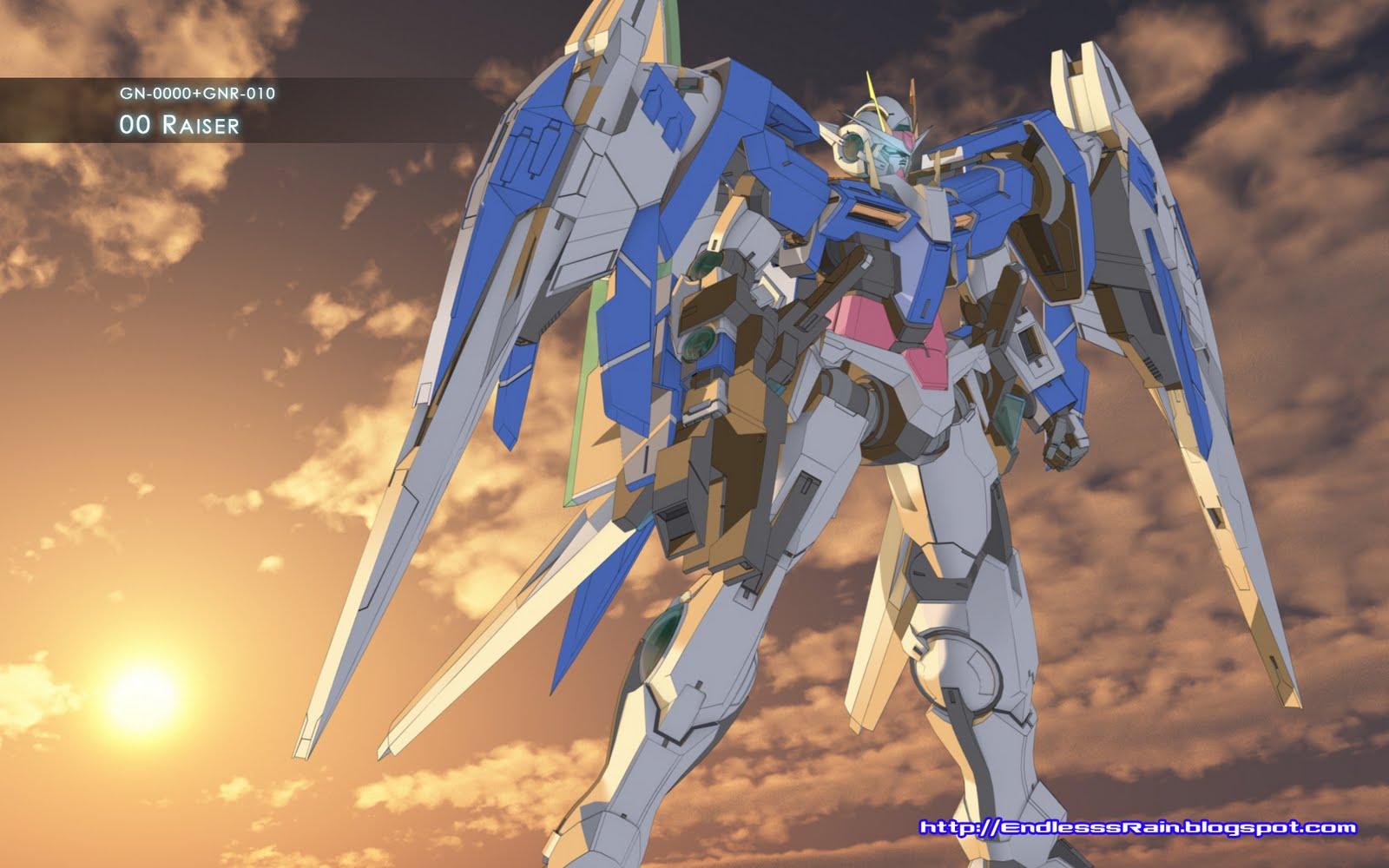 wallpaper Wallpaper De Gundam 00 1600x1000