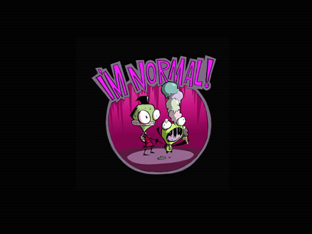 Invader Zim images Zim and GIR wallpaper photos 1404606 1024x768