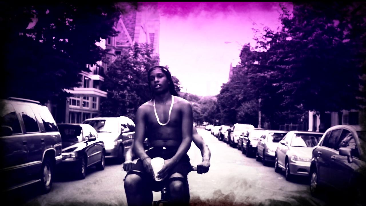 ASAP Rocky Purple Swag Rap Wallpapers 1280x723