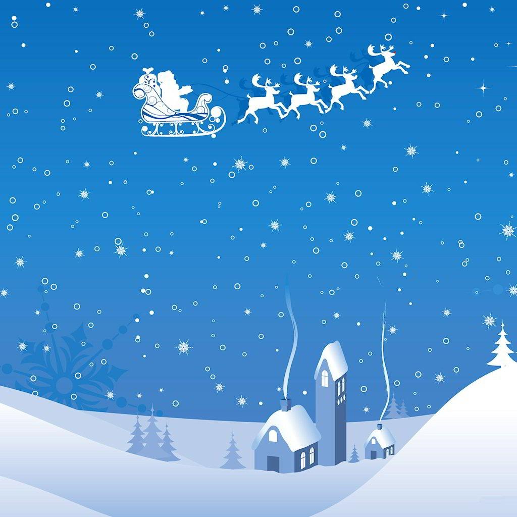 iPad Christmas Wallpapers iPad Retina HD Wallpapers 1024x1024