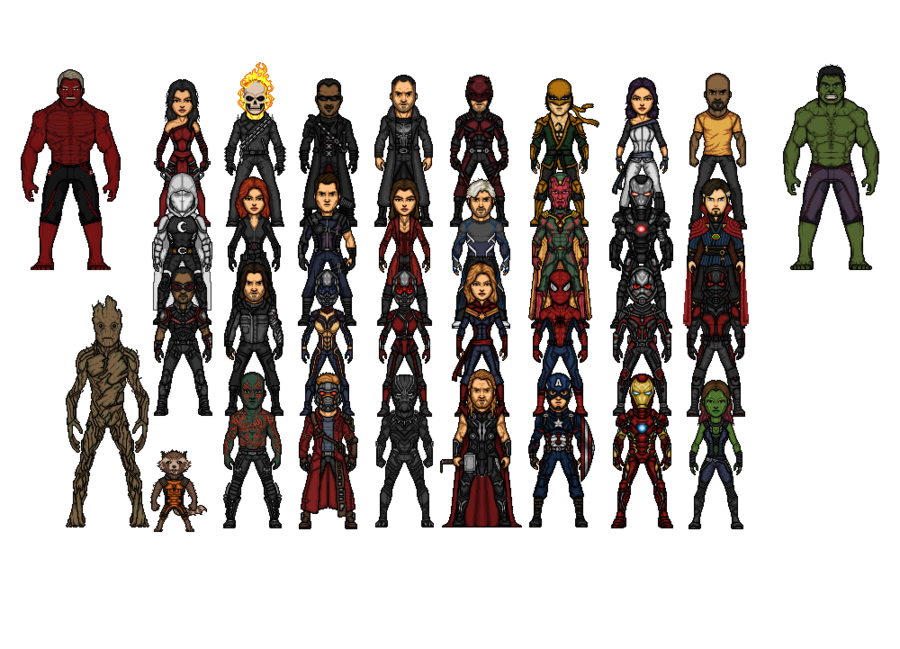 marvel cinematic universe by woverman422 900x649