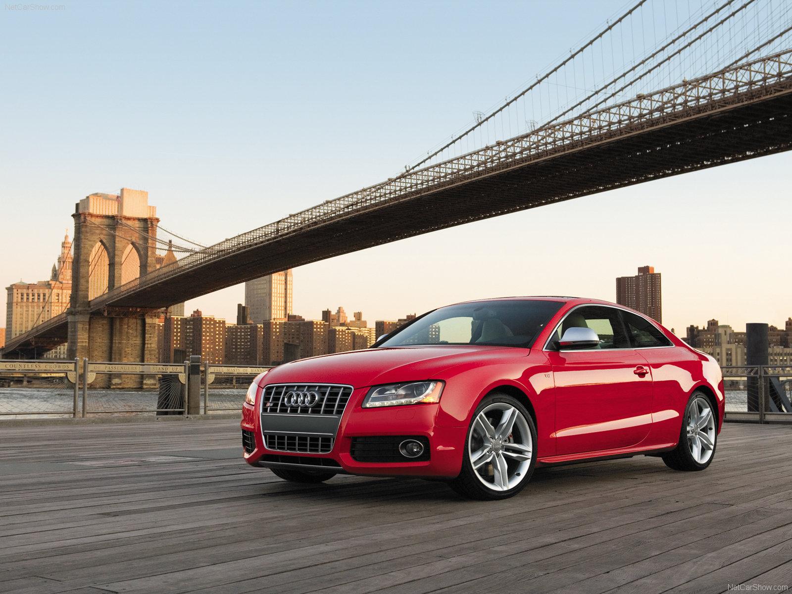 Audi S5 здание освещение  № 2217124 без смс