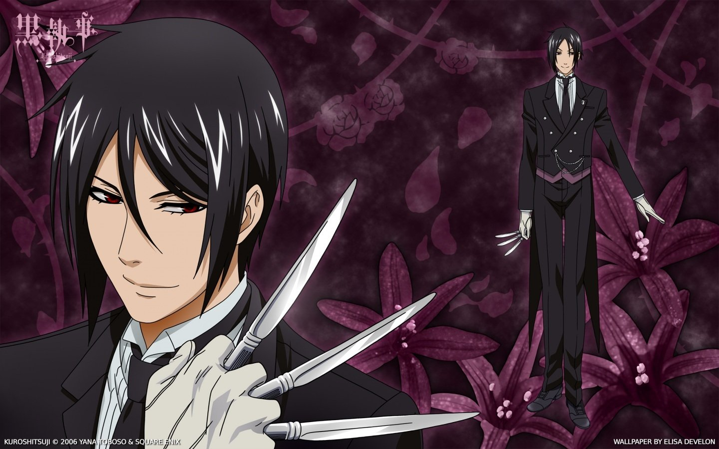 Black Butler Live Wallpaper Android