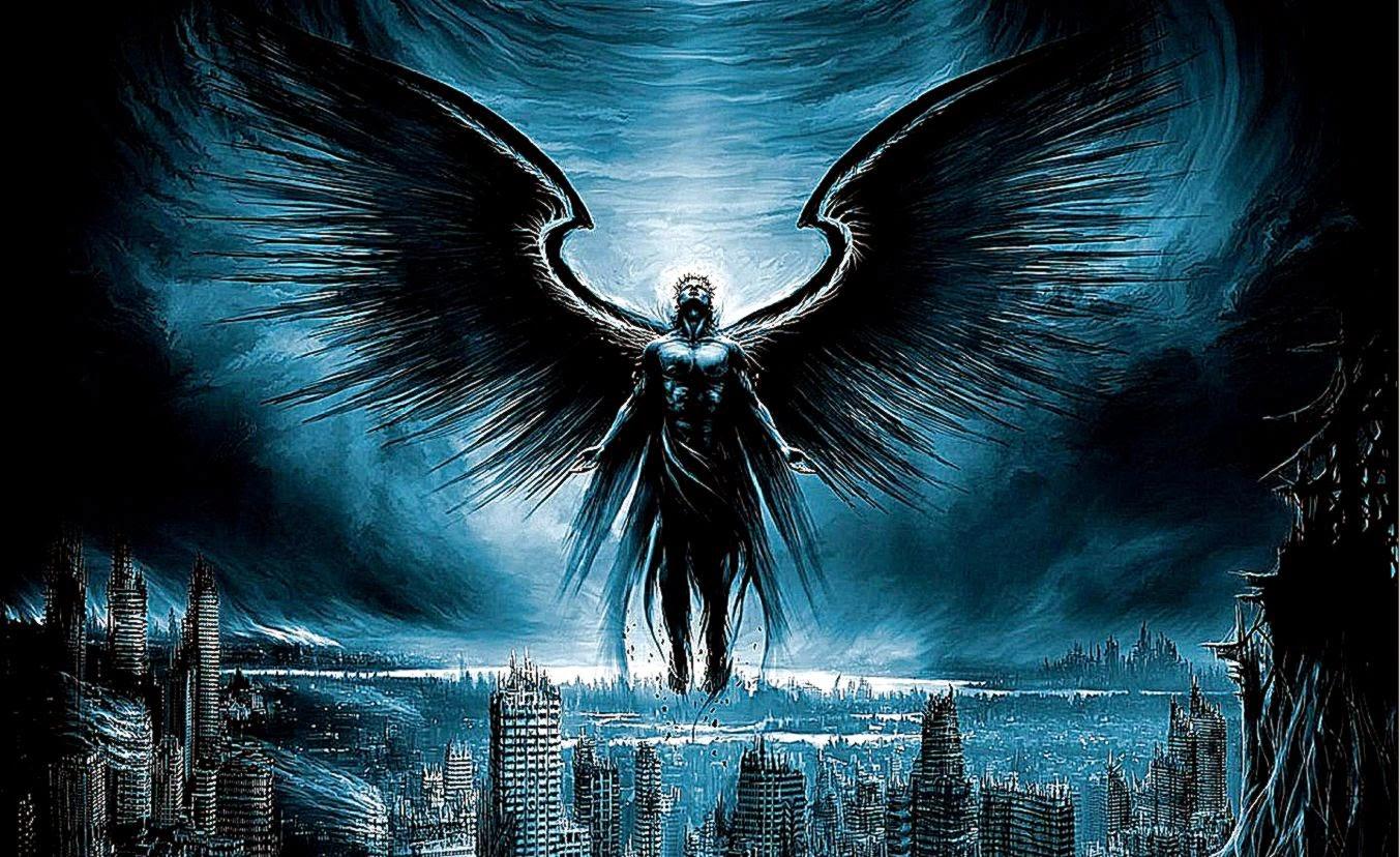 Fallen Angel Boy Wallpaper HD Wallpapers Desktop Background 1353x828