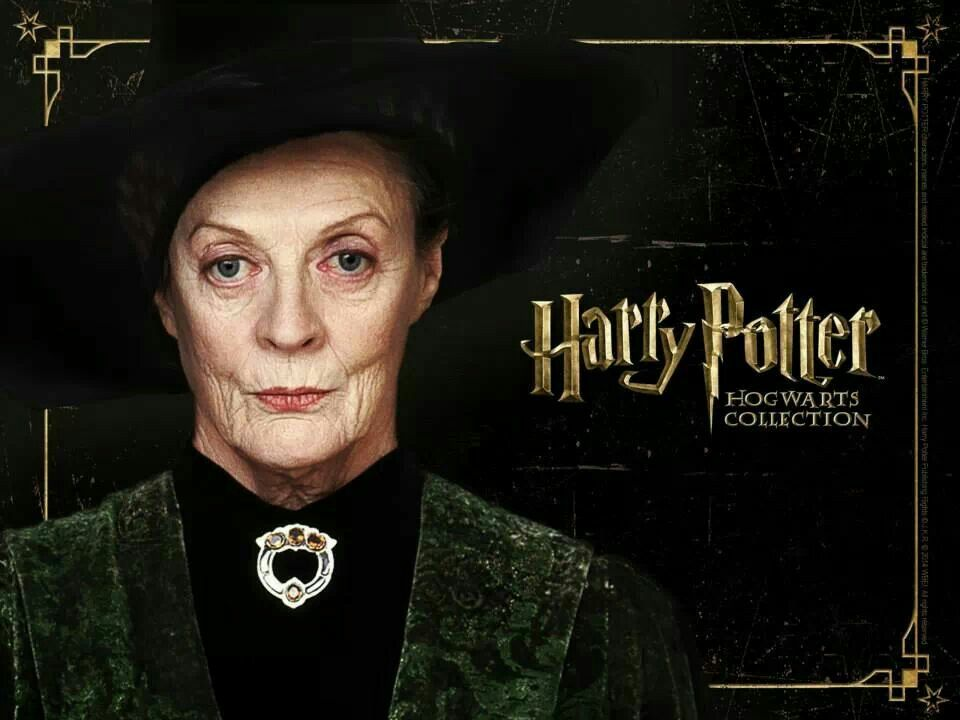 Minerva McGonagall yes harry potter forever Harry potter 960x720