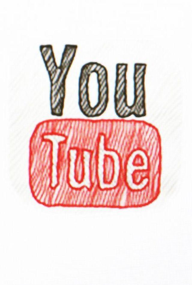 YouTube logo phone wallpaper Phone wallpaper Usuarios de 640x948