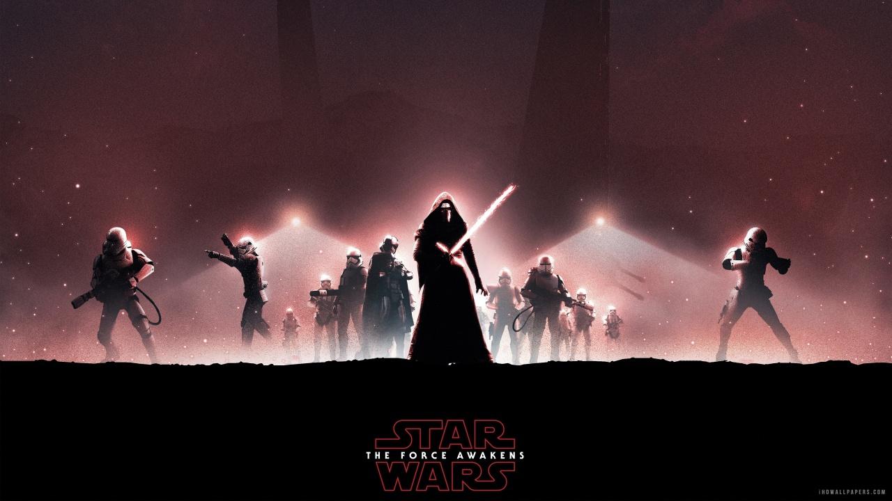Star Wars The Force Awakens Kylo Ren HD Wallpaper   iHD Wallpapers 1280x720