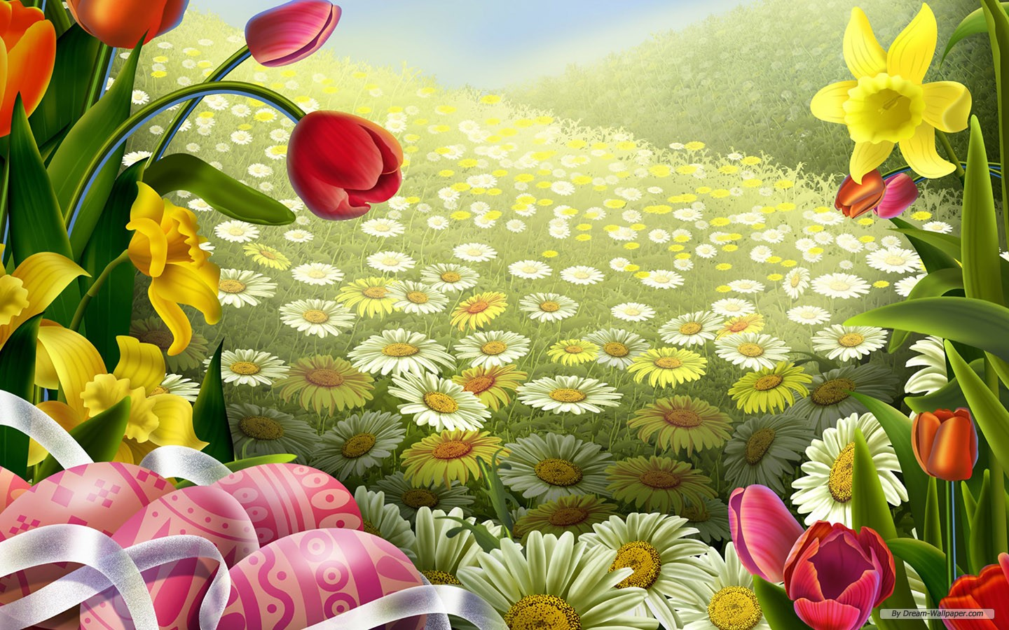 2013 Top 25 Cure Easter Day Wallpapers for Android Phones 1440x900