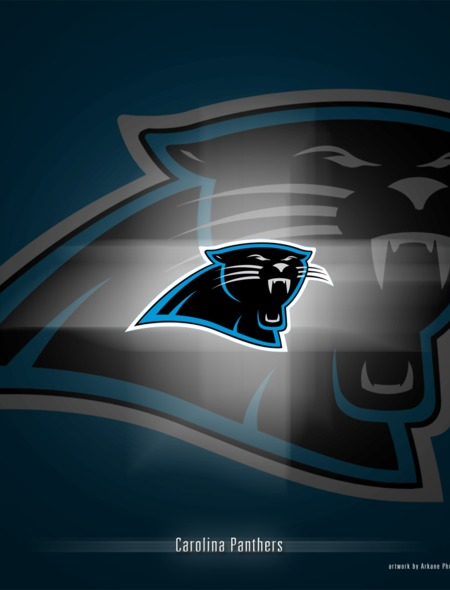 Carolina Panthers Spotlight Wallpaper for Phones and Tablets 450x590