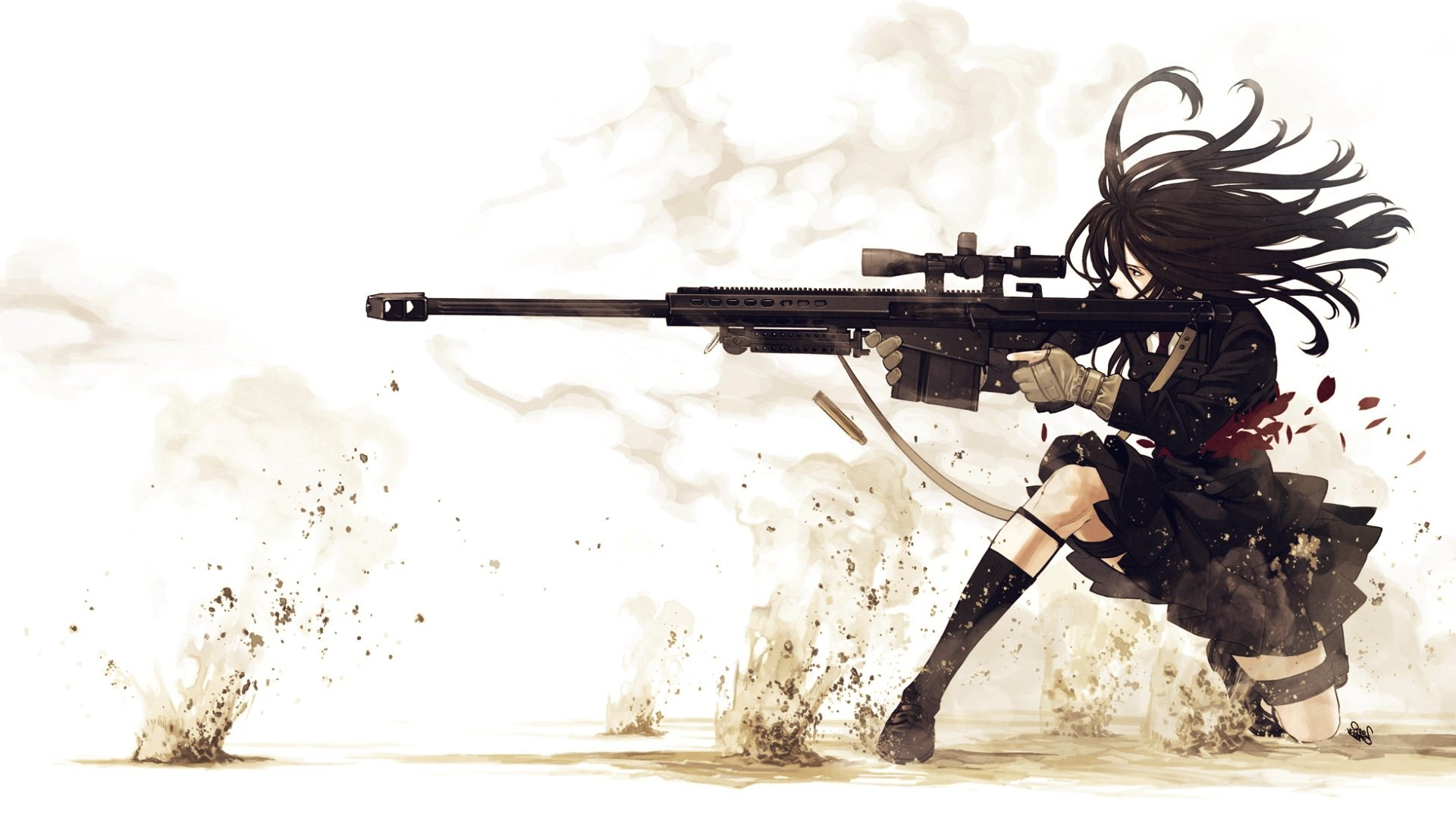girl sniper Wallpaper Background 4897 1920x1080