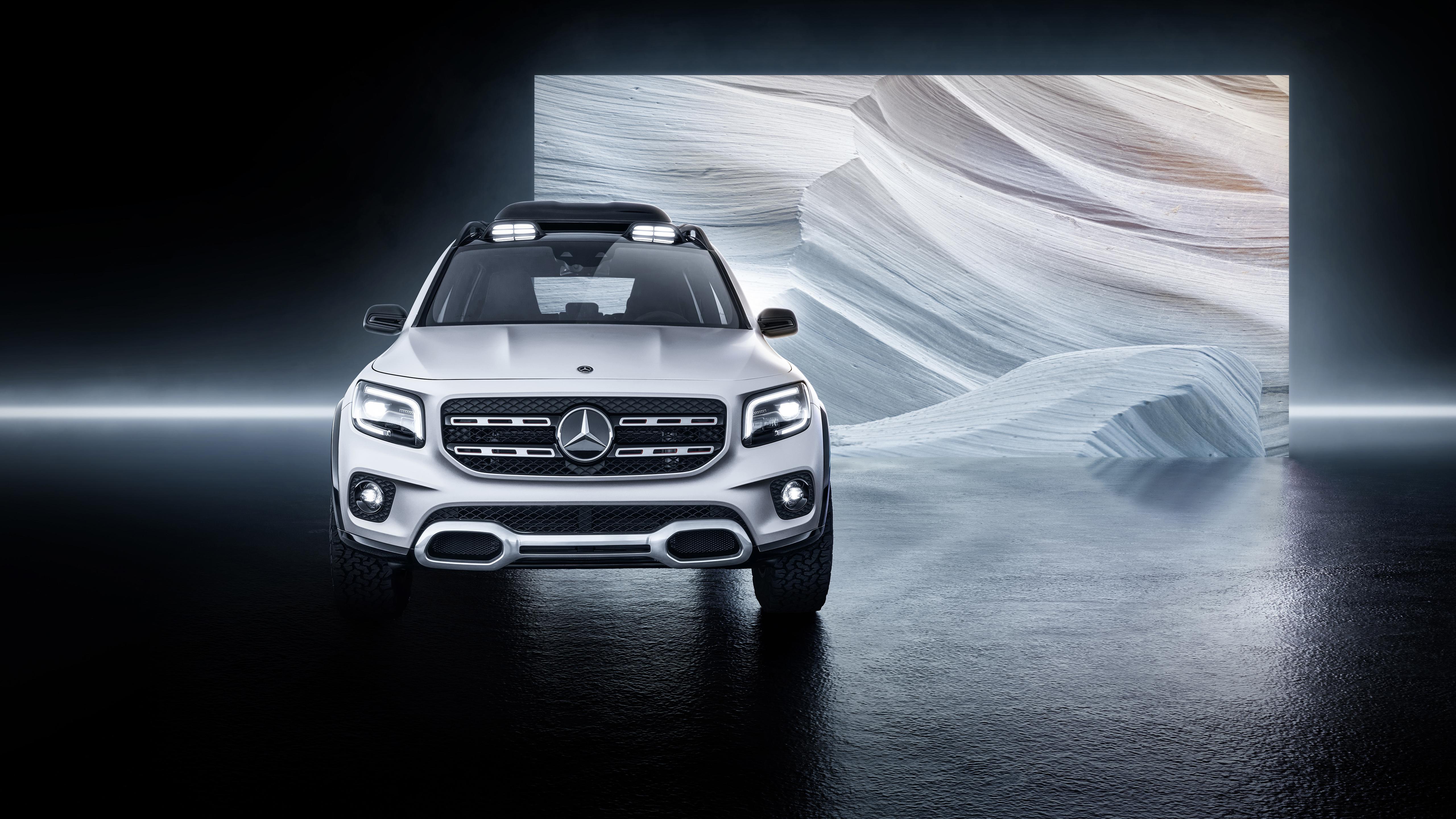 Mercedes Benz Concept GLB 2019 5K 2 Wallpaper HD Car Wallpapers 5120x2880