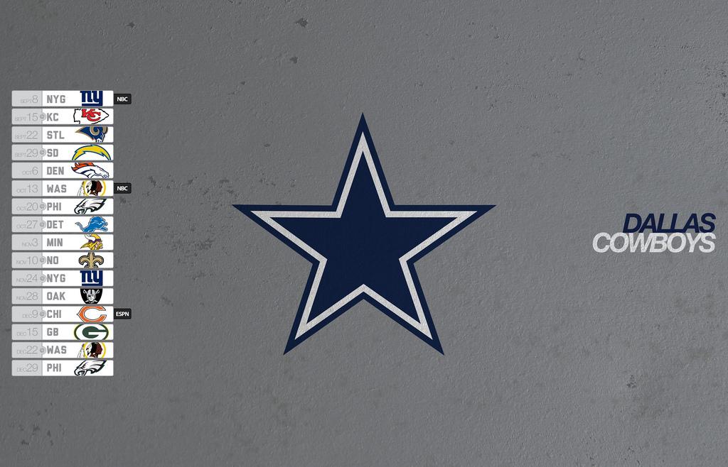 Dallas Cowboys 2013 Schedule Desktop Wallpaper Flickr   Photo 1024x658