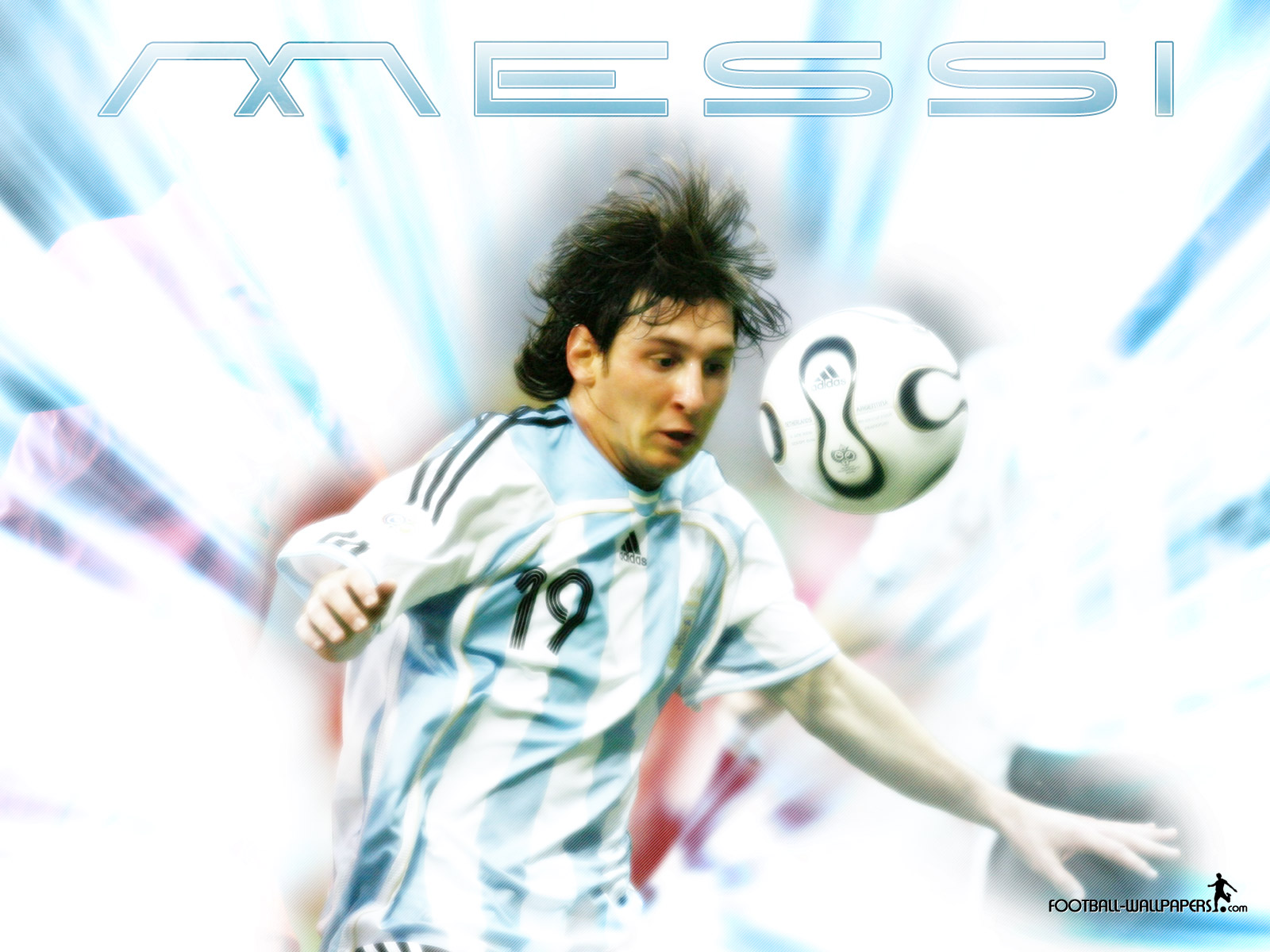 Lionel Messi Wallpaper 1 Football Wallpapers and Videos 1600x1200