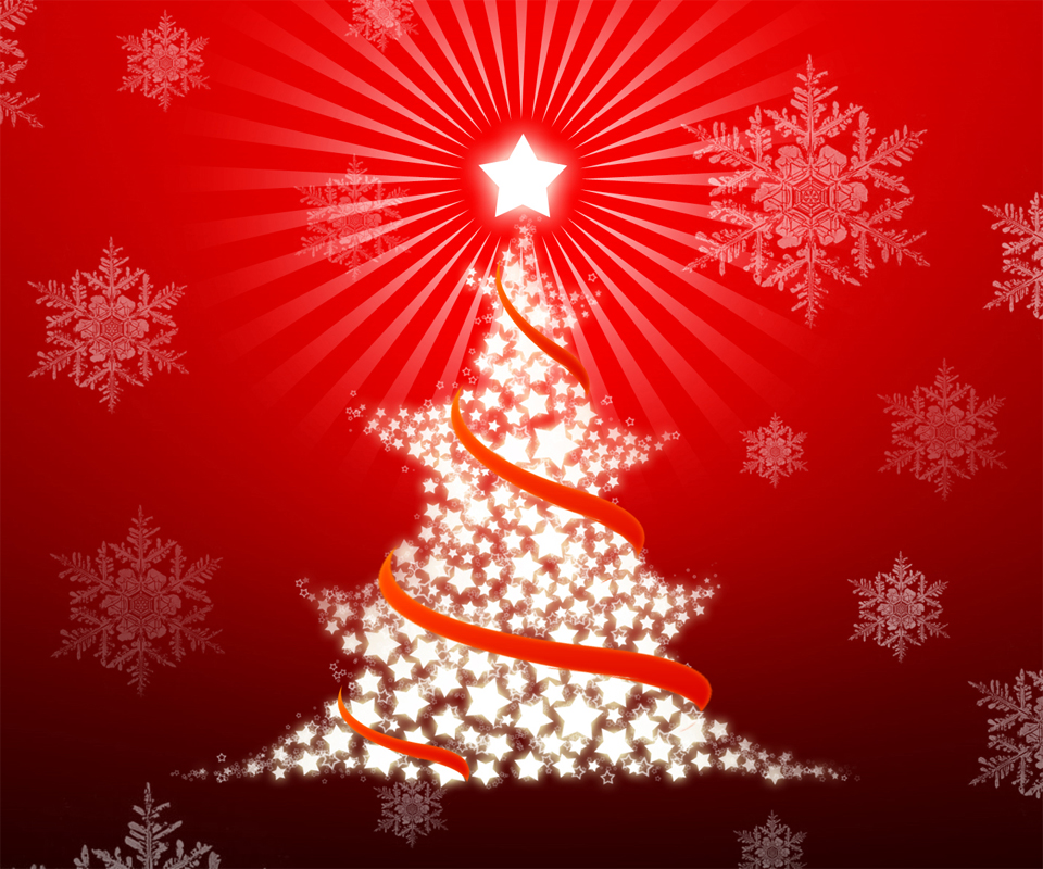 Christmas Tree Android Wallpapers 960x800 Mobile Phone Screensavers 960x800