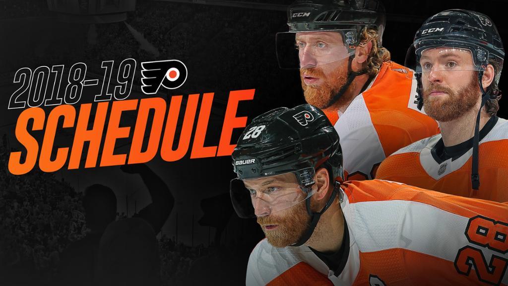 Flyers Release 2018 19 Regular Season Schedule 1024x576