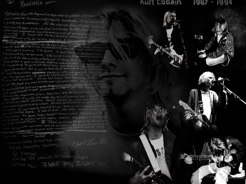 Kurt Cobain Wallpaper Background Theme Desktop 800x600