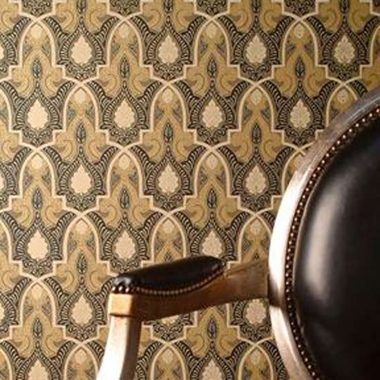 Alhambra wallpaper from Zoffany Reproduced from an original Arts 550x550