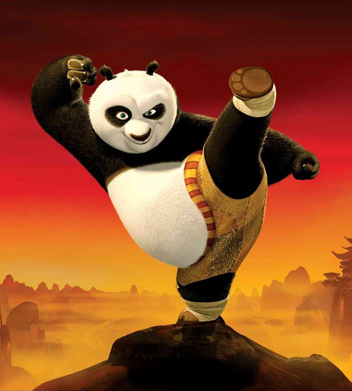 Download mobile wallpaper Cartoon Panda Kung Fu Bears 13595 700x776