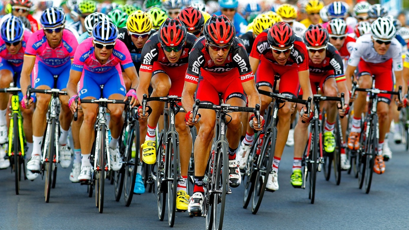 1366x768 Cycle Racing Tour De France Cyclers Cycle 1366x768