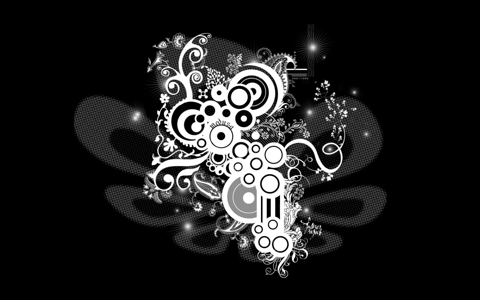 Black And White Desktop Wallpaper Designs Hd Black and white desktop 1920x1200