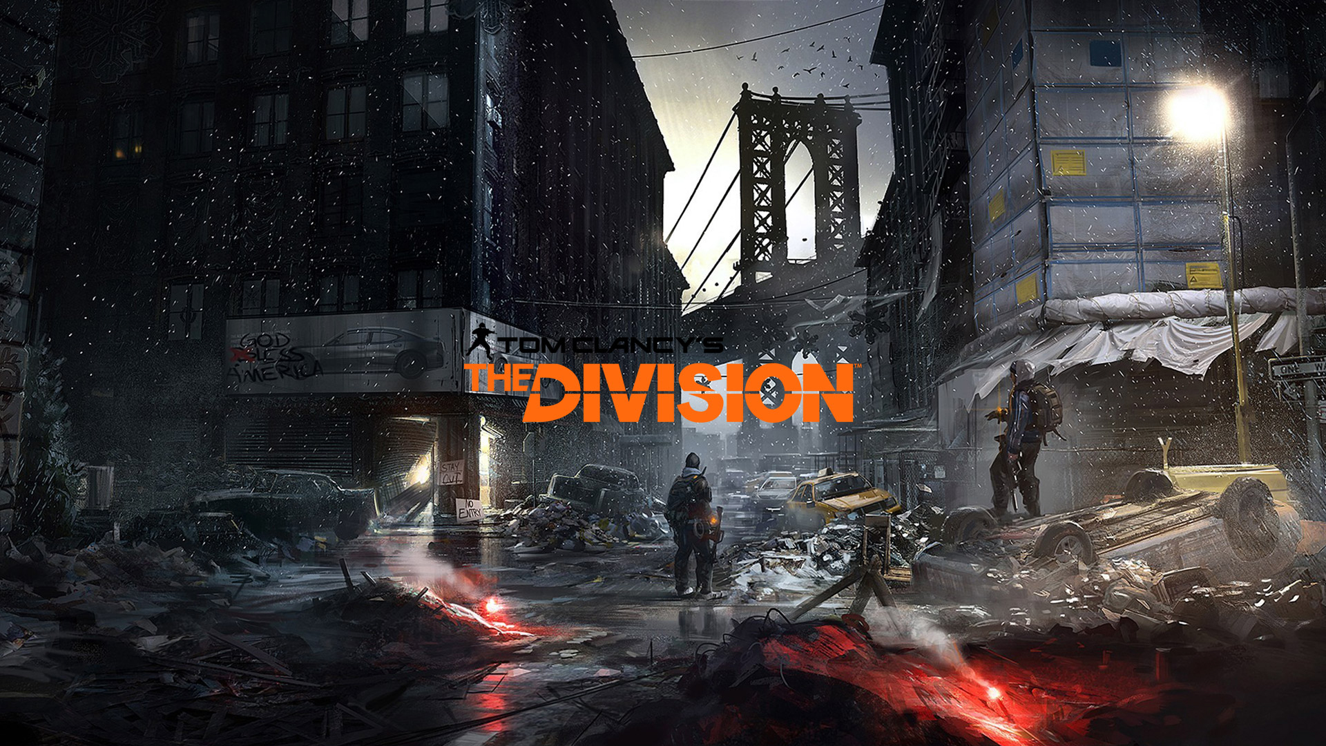 Tom Clancys The Division Art HD Wallpaper 1920x1080