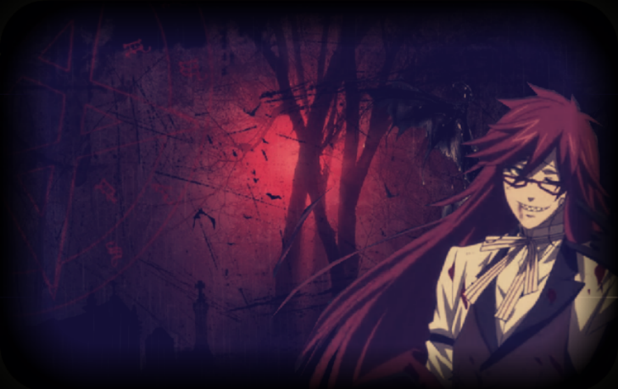 Grell Sutcliff WallpaperBackground o by xChoker 885x558